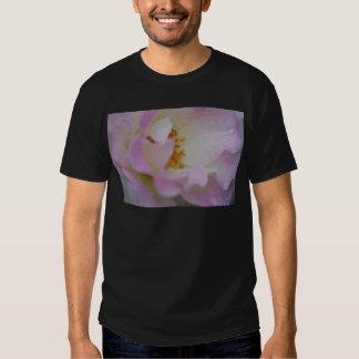 Pretty pink macro rose shirt