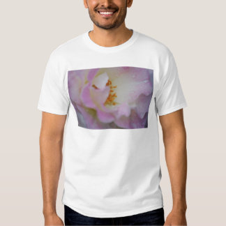 Pretty pink macro rose t-shirt