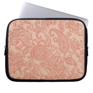 Pretty Pink Paisley Computer Case