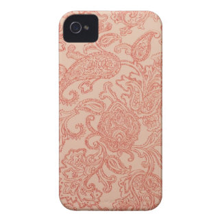 Pretty Pink Paisley iPhone 4/4S Case