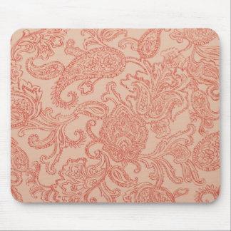 Pretty Pink Paisley Mousepad