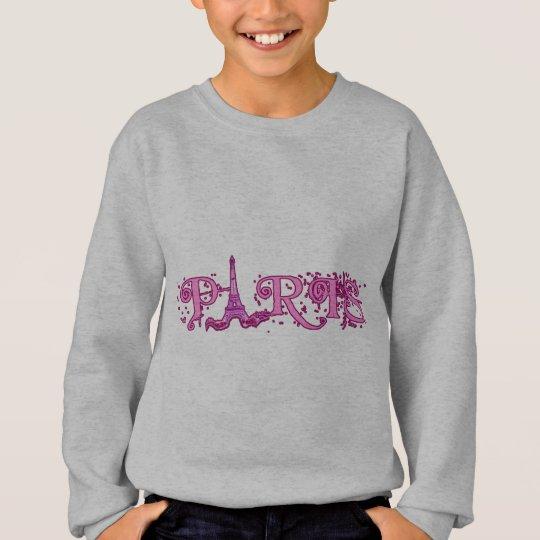 Pretty Pink Paris Products Sweatshirt