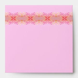 Pretty Pink Pastel, invitation envelope