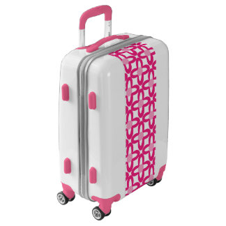 Pretty Pink Pattern Luggage