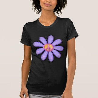 Pretty Pink Peace Sign Tee Shirt