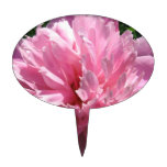 Pretty Pink Peony Cake Toppers