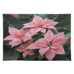 Pretty Pink Poinsettia Placemat