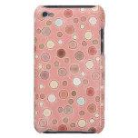 Pretty Pink Polka Dots Custom iPod Touch Case