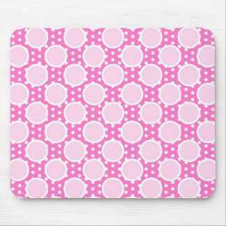 Pretty Pink Polka Dots Mouse Pad
