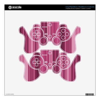 Pretty Pink PS3 Controller Skins