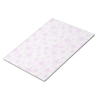 Pretty Pink & Purple Daisies Notepad