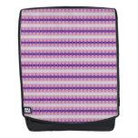 Pretty Pink Purple Ribbons Backpack