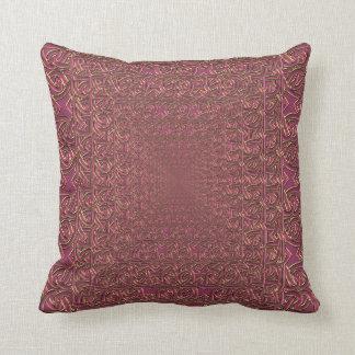 Pretty Pink Pyramid Celtic Pillow