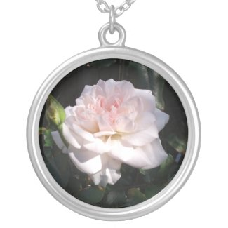 Pretty Pink Rose Necklaces