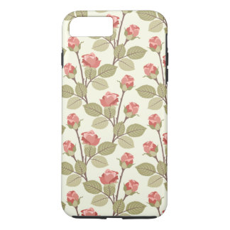 Pretty Pink Rosebuds iPhone 8 Plus/7 Plus Case