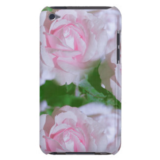 Pretty Pink Roses Floral Barely There iPod Case