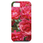 Pretty pink roses print iphone case iPhone 5 cases