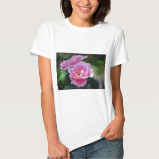Pretty pink roses t-shirt