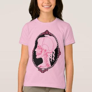 Pretty Pink Skull Cameo T-Shirt