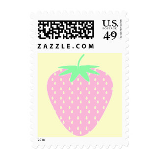 Pretty Pink Strawberry. Stamps