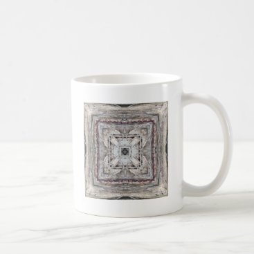 Aztec Themed Pretty Pink Tinged Aztec Inspired Pattern Coffee Mug