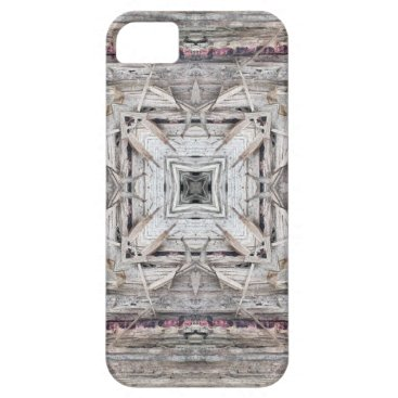Aztec Themed Pretty Pink Tinged Aztec Inspired Pattern iPhone SE/5/5s Case