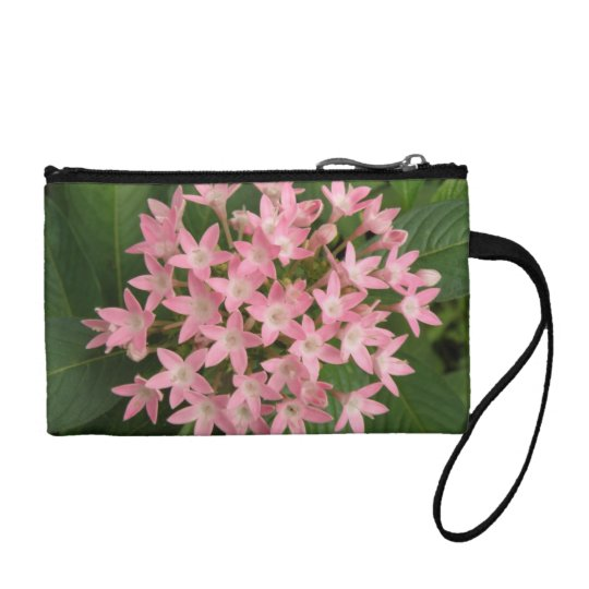 Pretty Pink Tropical Flowers Bagettes Bag