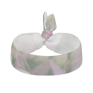 Pretty Pink Tropical Flowers Hair Tie