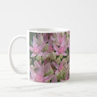 Pretty Pink Tropical Flowers Mug