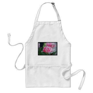 Pretty Pink Tulips Adult Apron