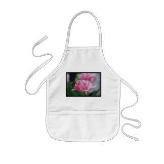 Pretty Pink Tulips Kids' Apron