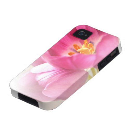 Pretty Pink Tulips iPhone 4 Case