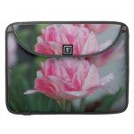 Pretty Pink Tulips MacBook Pro Sleeve