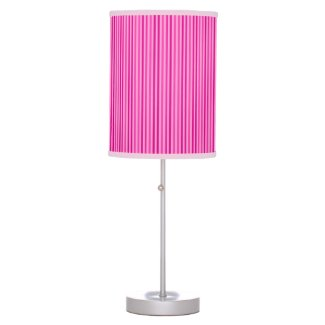 Pretty Pink Vertical Stripes