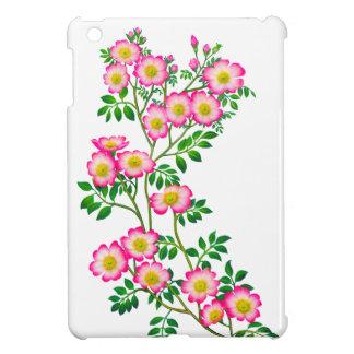 Pretty Pink Wild Roses iPad Mini Case