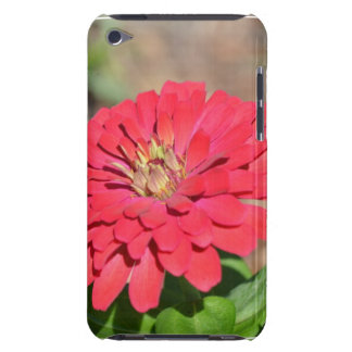 Pretty Pink Zinnia Flower iPod Touch Case-Mate Case