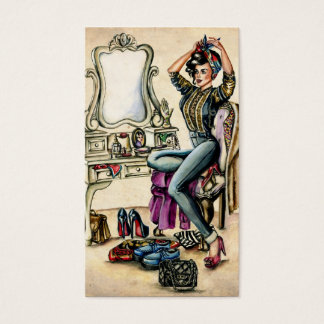 Pretty PinUp Beauty Business Card