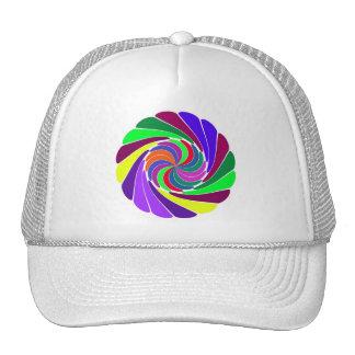 Pretty Pinwheel Trucker Hat