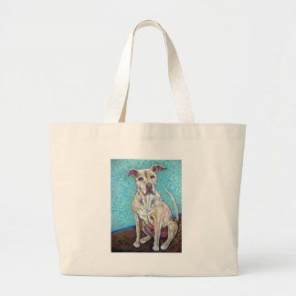 pretty pitty large tote bag