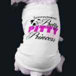 """Pretty Pitty Princess Pitbull Shirt<br><div class=""""desc"""">You treat your pitbull like a princess (as you should),  so why not let her show off her royalty status with this stylish shirt? You can even put her name on it (which she clearly would LOVE).</div>"""