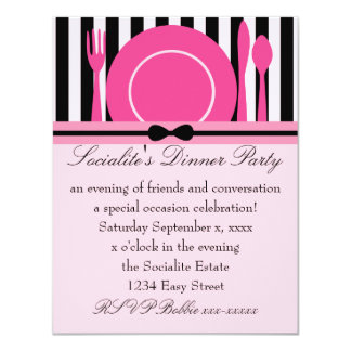 Pretty Place Setting Card