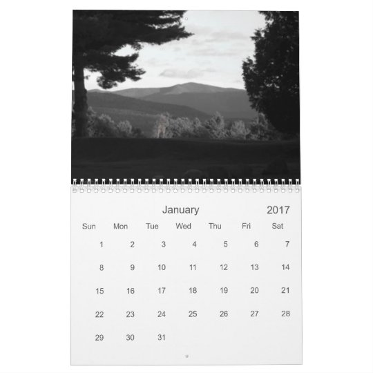 pretty places calendar