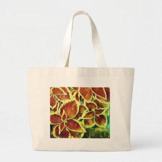 Pretty Plant Large Tote Bag