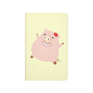 Pretty Plump Piggy Journal