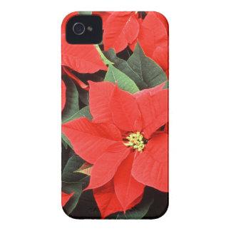 Pretty Poinsettia iPhone 4 Case-Mate Cases