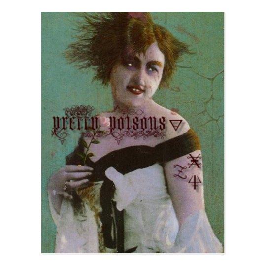 Pretty Poison Postcard