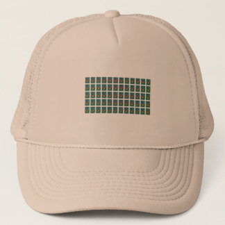Pretty Poland Stamp Trucker Hat