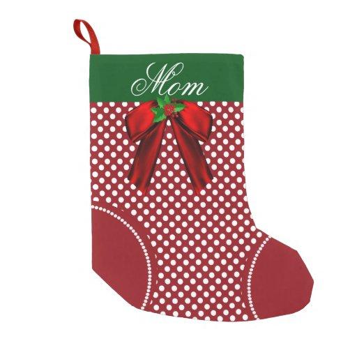 Pretty Polka Dot Custom Christmas...
