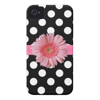 Pretty Polka Dot iPhone 4 Phone Case