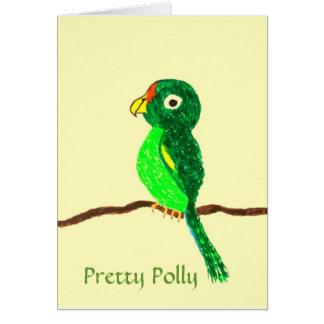 'Pretty Polly'  Card
